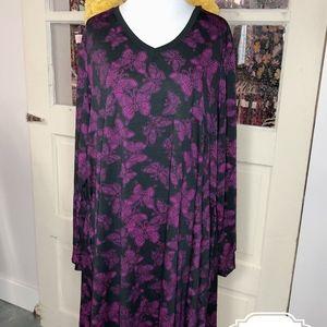 Lularoe XL Emily Swing Dress